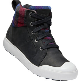 Keen Elena Mid-Cut Schuhe Damen black/plaid